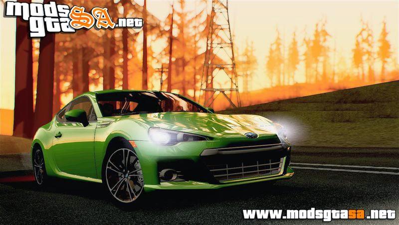 SA - Subaru BRZ 2012