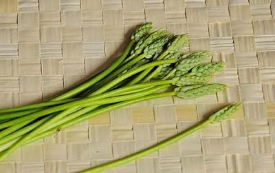A bunch of Bath asparagus