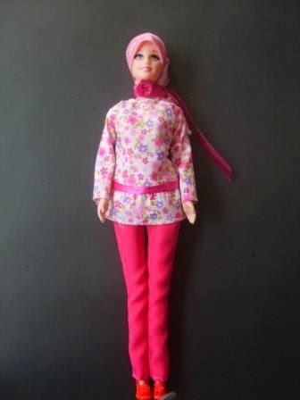 Gratis gambar boneka barbie muslim untuk anak