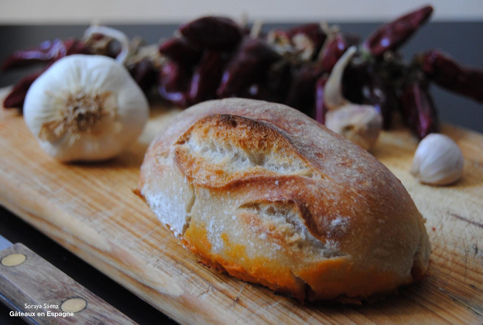 G teaux en espagne le 39 pre ao 39 le pain espagnol au chorizo - Cuisine espagnole tapas ...