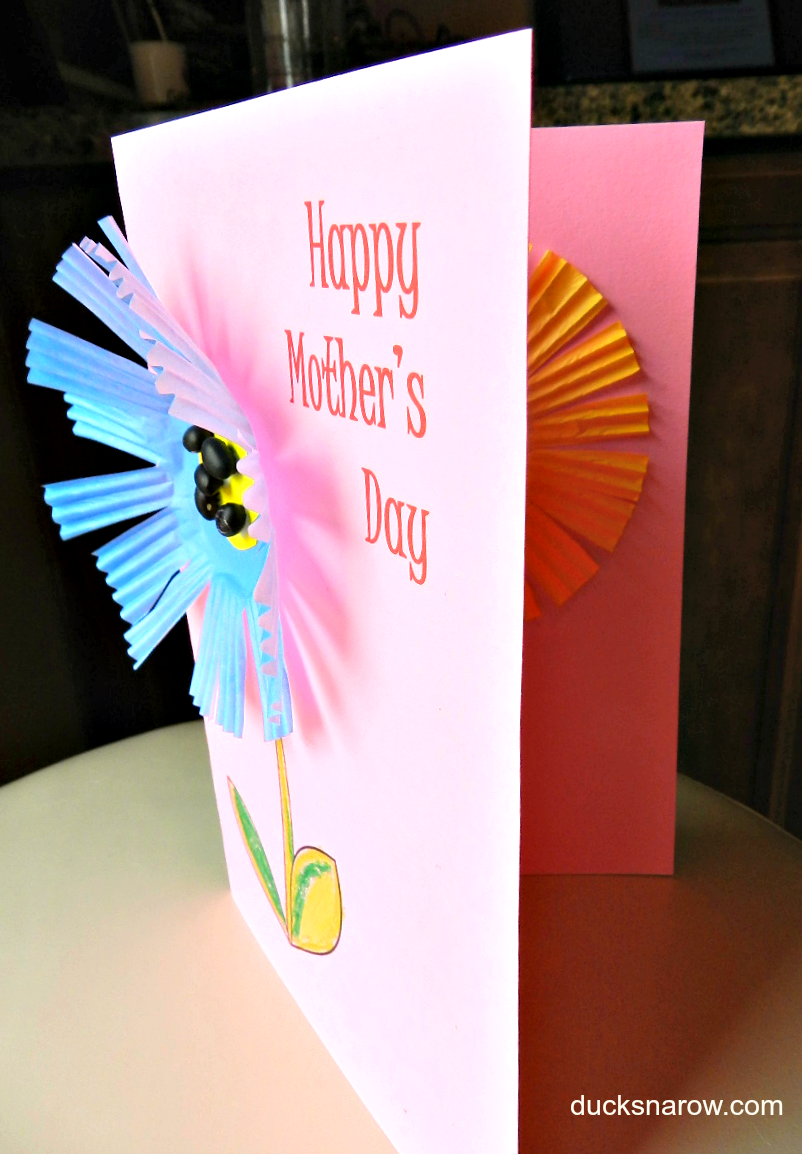 cute and easy mother u0027s day card your kids can make themselves