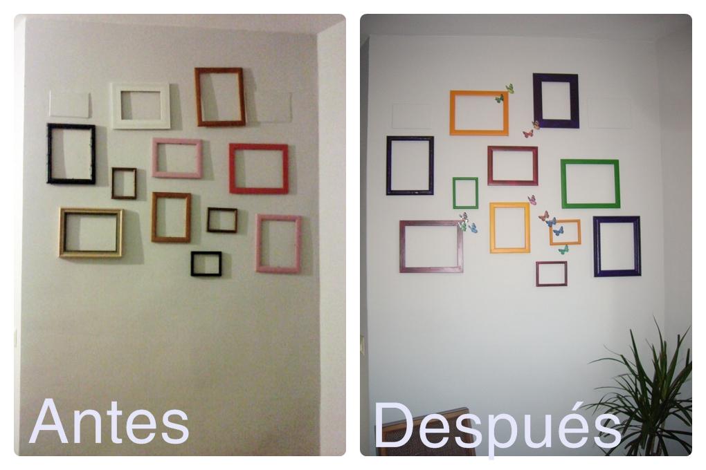 Comparte tu casa las paredes del sal n comedor de - Como pintar las paredes de mi casa ...