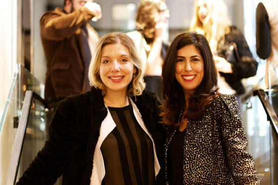 Fashion Junkie at Burberry Art of the Trench party with Emma Arnold
