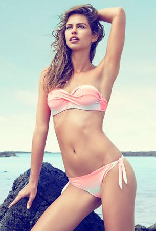 bikini bandeau push up Suiteblanco