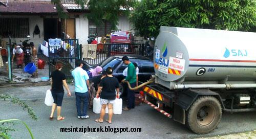 Akhirnya rakyat Selangor dapat air percuma...