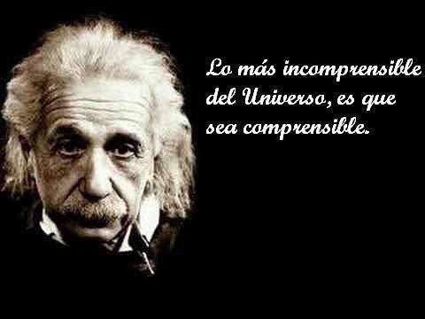 Famosa frase de Albert Einstein