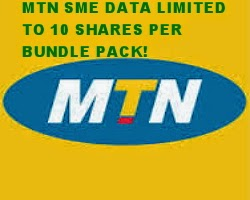 Important notice to all buyers and resellers of MTN cheap SME data bundles