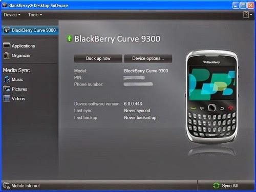 Cara Menginstal HP/Hape/Handphone Blackberry Untuk Semua Type
