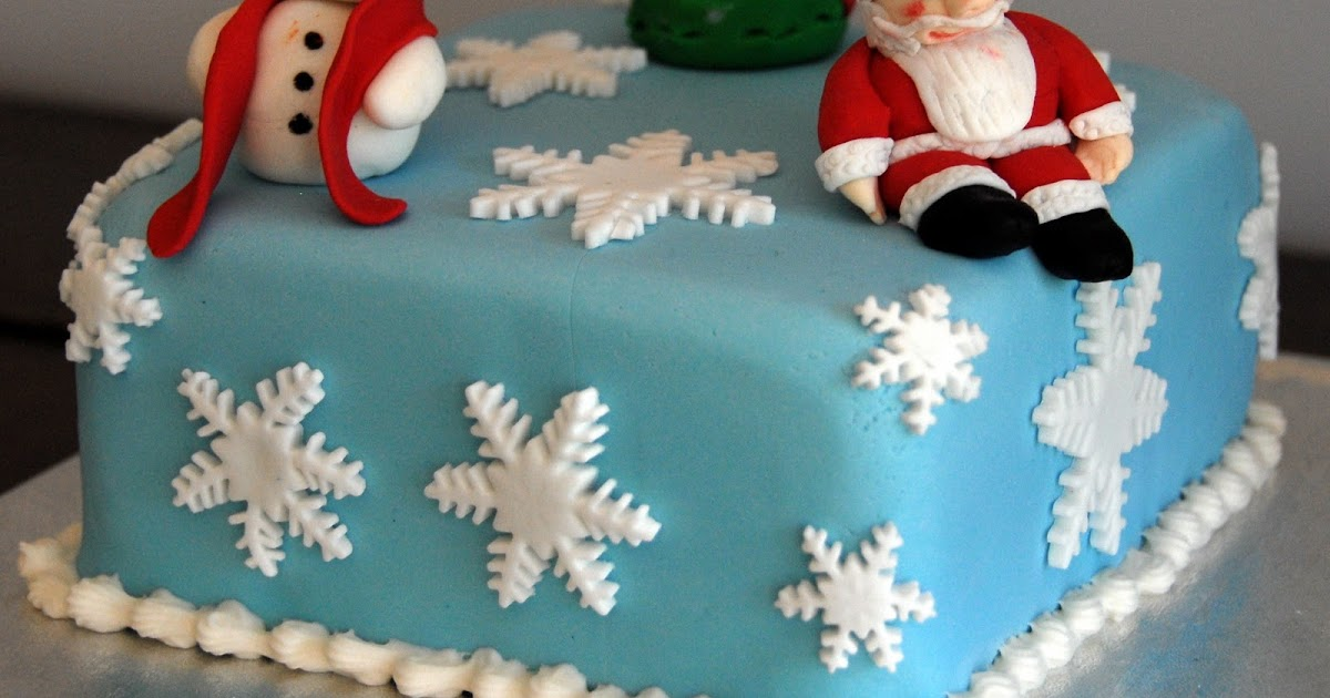 Christmas cakes decorating ideas