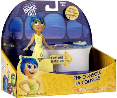 JUGUETES - DISNEY Inside Out | Del revés  Consola de emociones + Figura de Joy   Producto Oficial Película Pixar 2015| Bizak 30691112 | A partir de 4 años