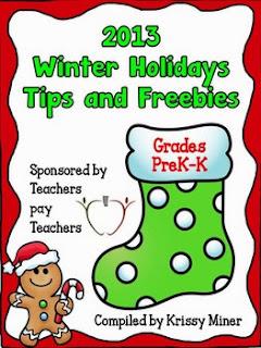 http://www.teacherspayteachers.com/Product/2013-Winter-Holidays-Tips-and-Freebies-Grades-PKK-Edition-1007993