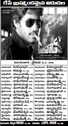 Bejawada Krishna District Theaters