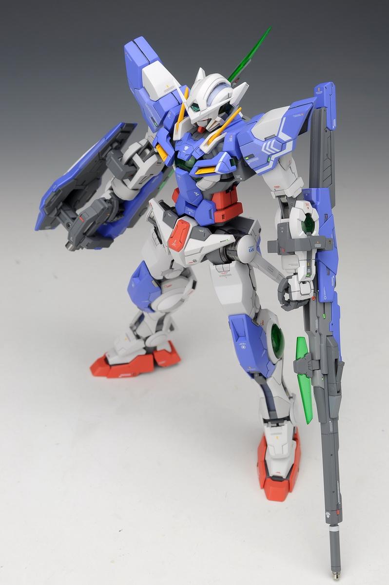 Gundam Exia Repair 3 Metal Build Image Gallery exia rep...