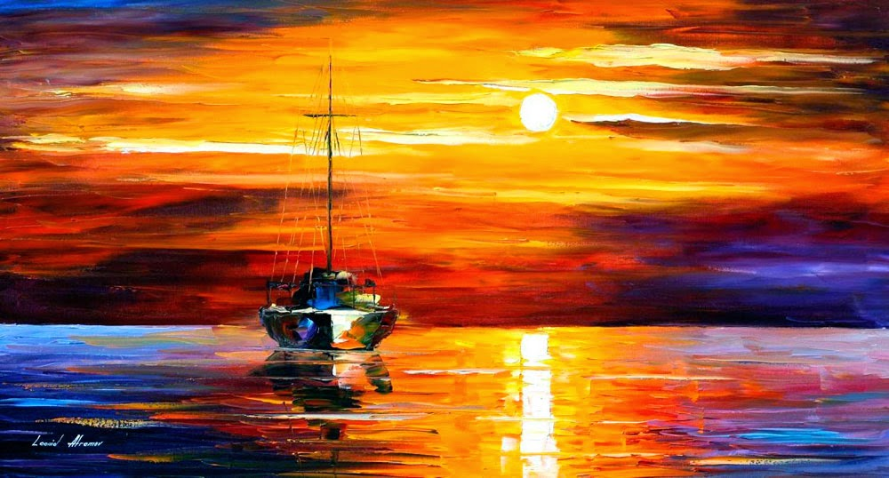 Sea shadows By Leonid Afremov