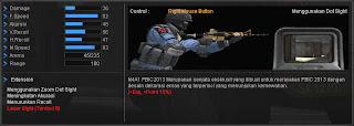 Spesifikasi M4A1 PBIC 2013