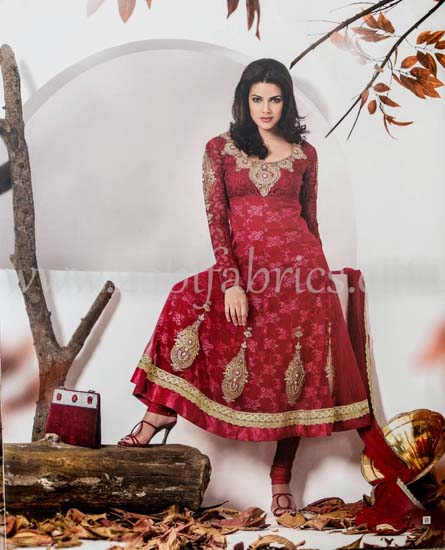 Zobi Fabrics Latest Party Wear Outfits Collection 2013 For girls Women 5 - Zobi Fabrics Latest Party Wear Outfits