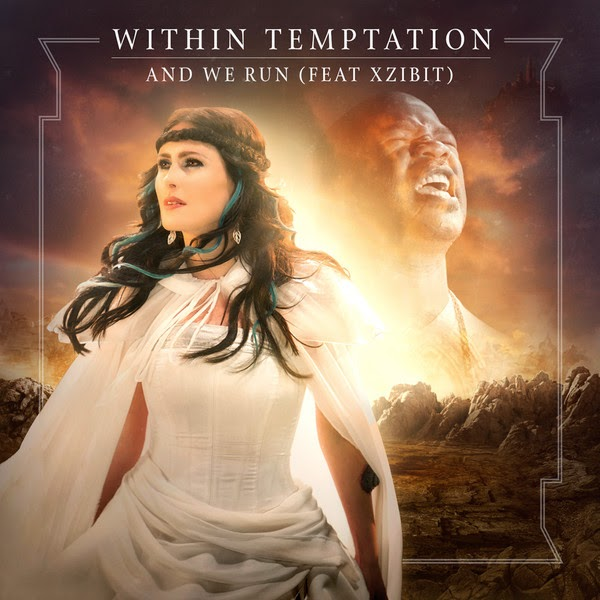 Within Temptation - And We Run (feat. Xzibit) - EP  Cover