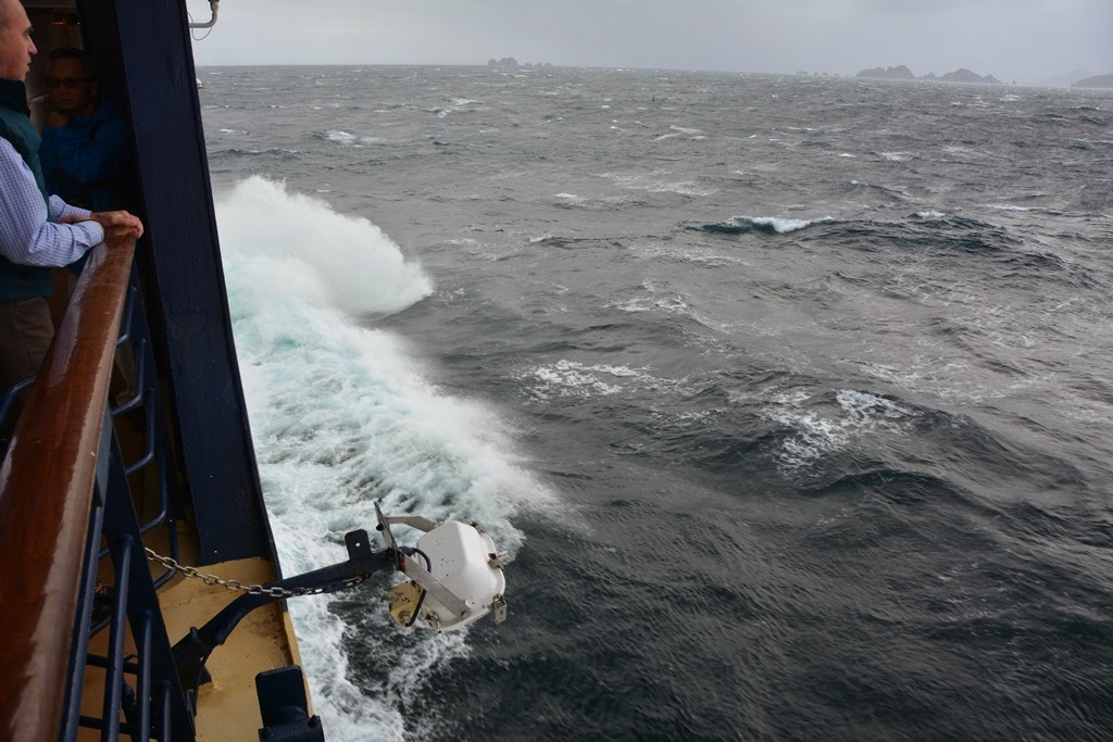 Cruising Cape Horn bow