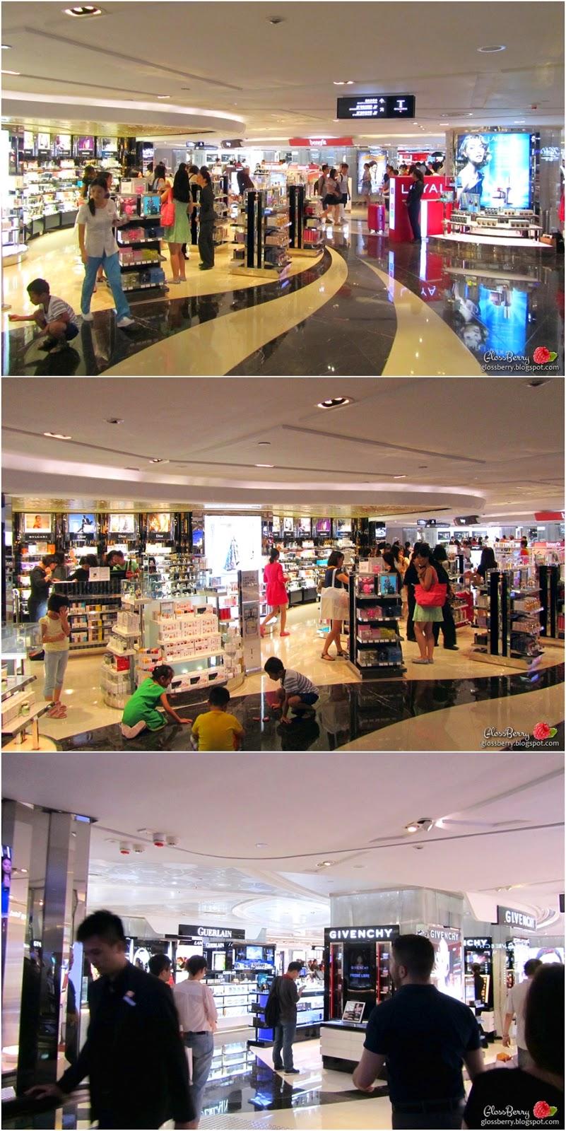 T galleria hong kong tsim sha tsui שופינג קניות איפור קוסמטיקה בהונג קונג