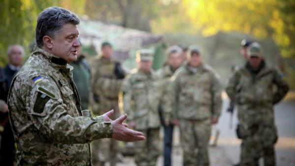 Порошенко: «Война завершится, когда вернем Крым»