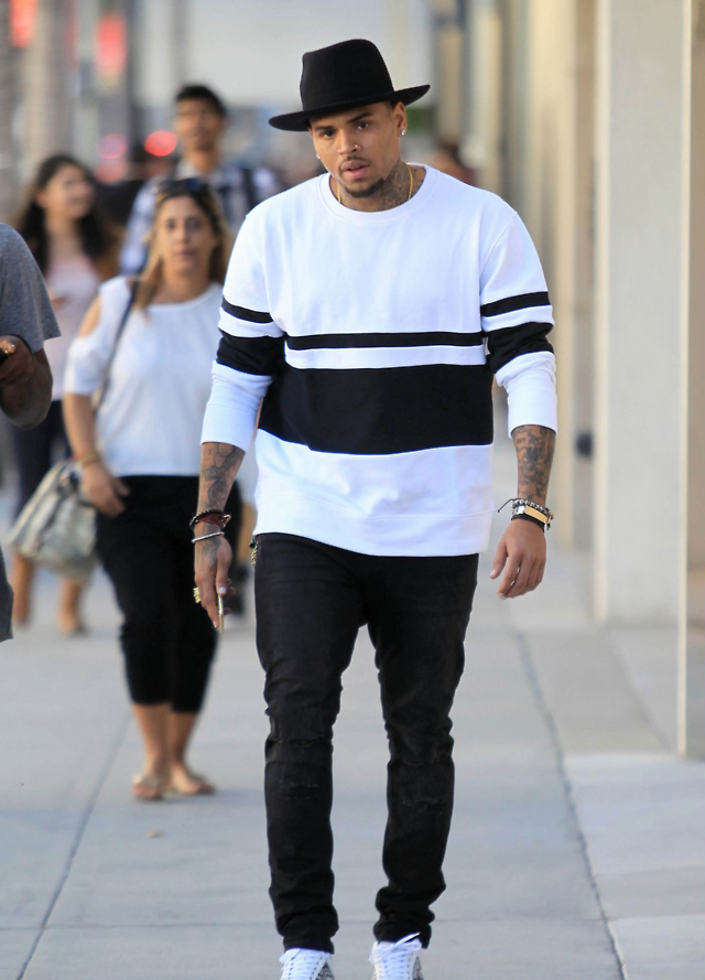 Chris Brown Lost Boy Swag Is The One Fashion The Black Girl