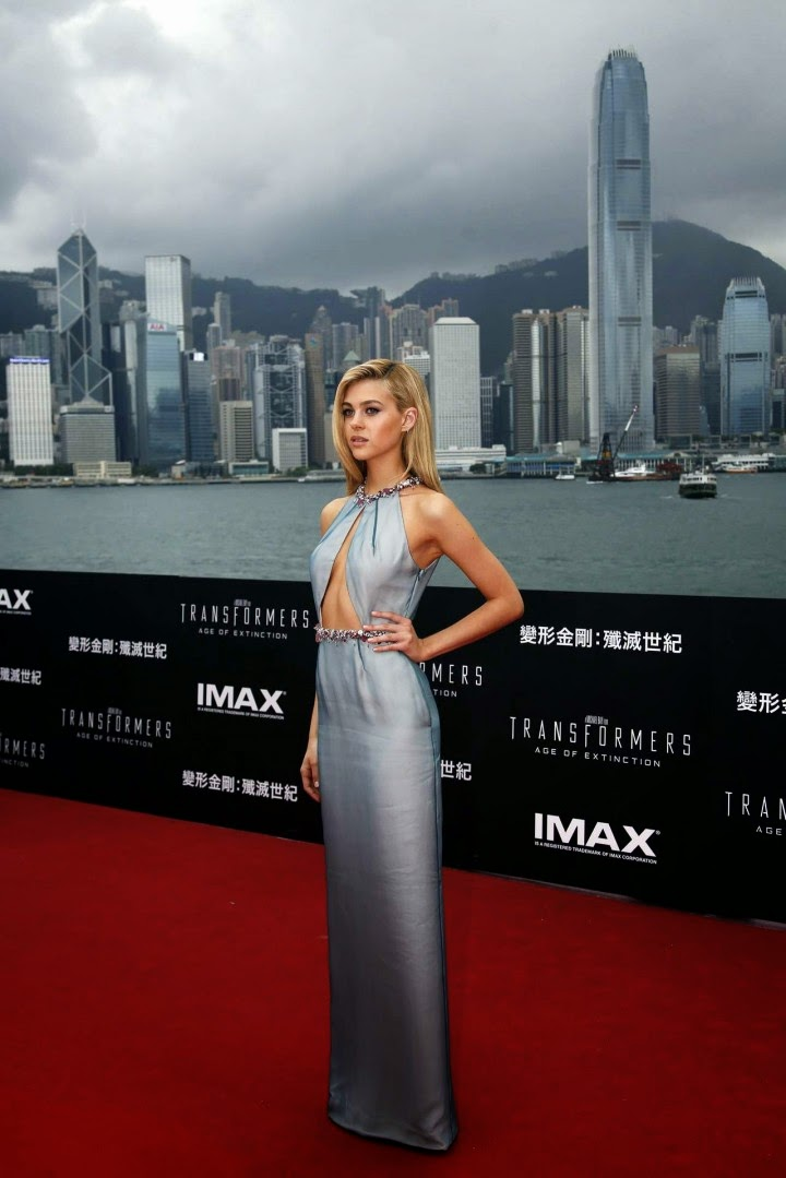 Nicola Peltz In Prada At The Transformers Age Of