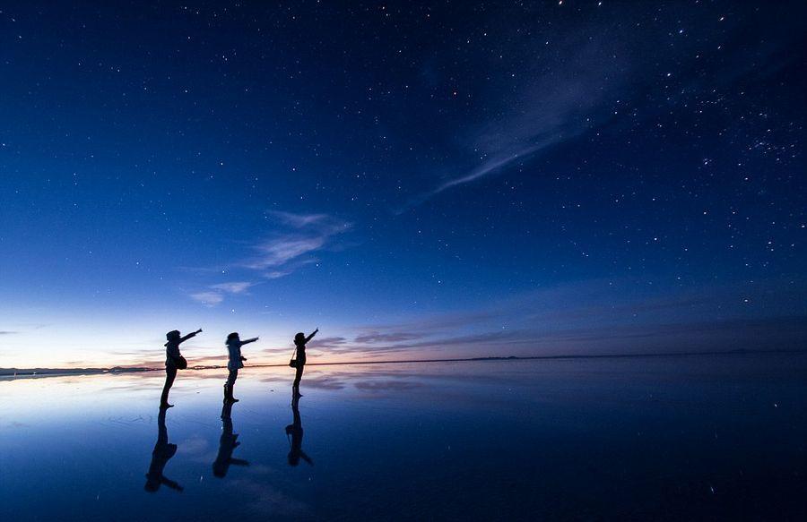 Japanese man beat the world's largest salt marsh