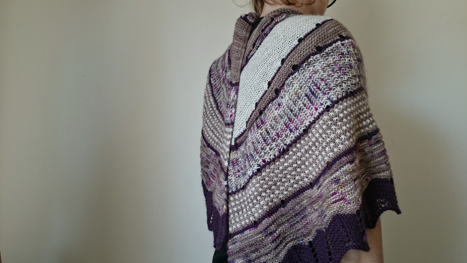 2015 shawl knitting texture summerofthesingleskein