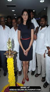Deeksha Seth in blue short dress