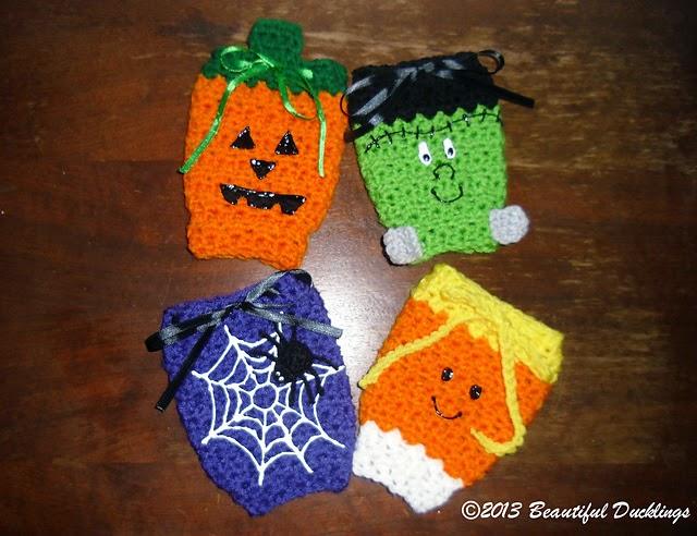 Halloween Leg Warmers