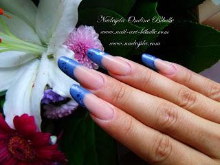 Nouvelle pose d'ongles avec la résine de couleur Clarissa!