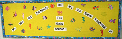 Photo of Fish School Bulletin Board