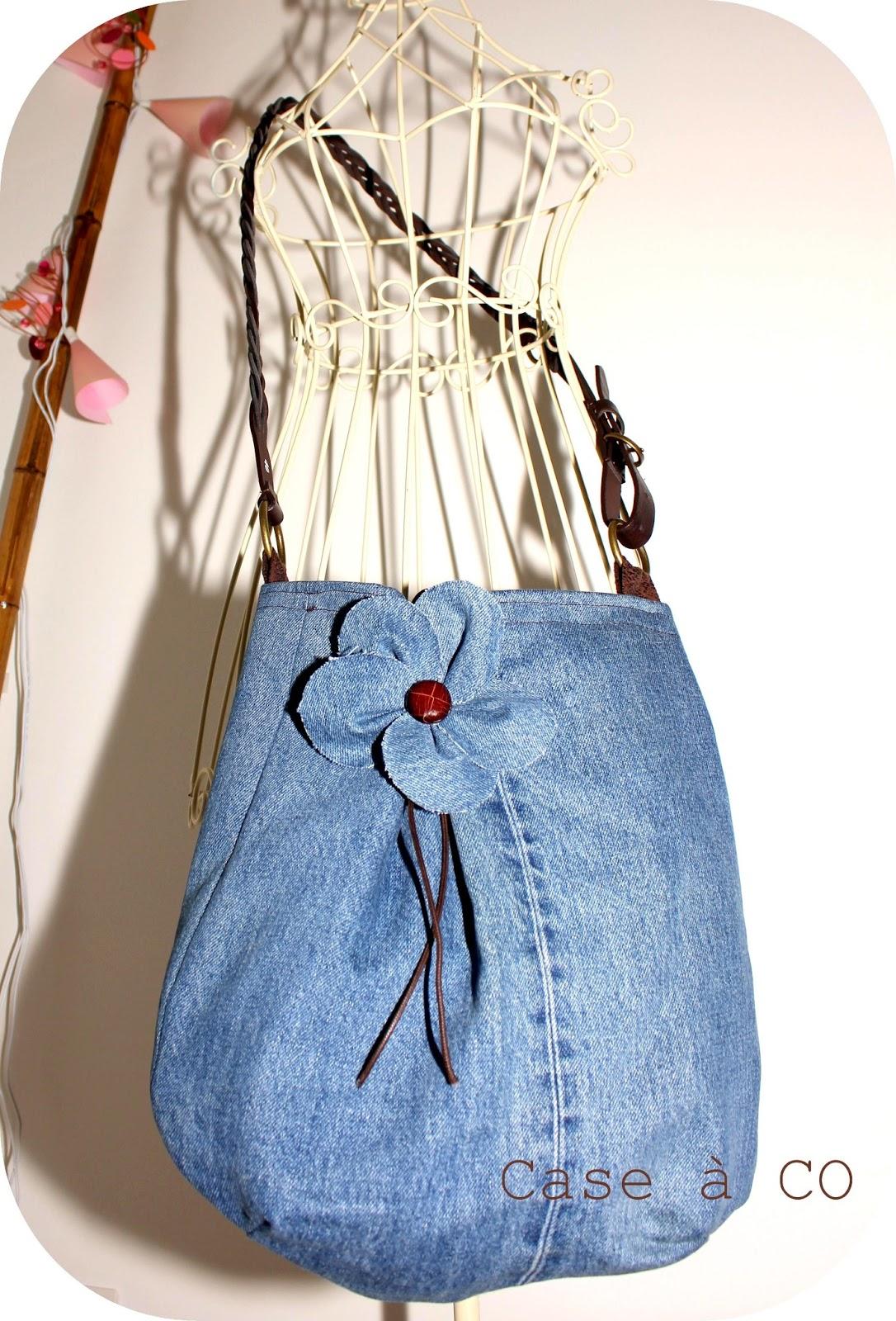 Case co sac jean 100 r cup - Faire un sac avec un jean ...