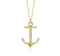Tiffany Anchor Necklace4