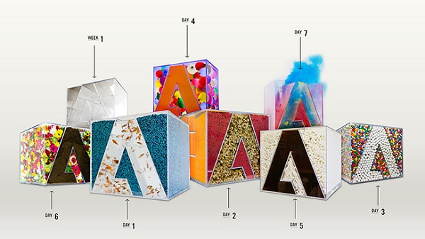 Creative Spree: Adobe Permits Designers to Dabble With it's LOGO and Uses Their Ideas for Branding