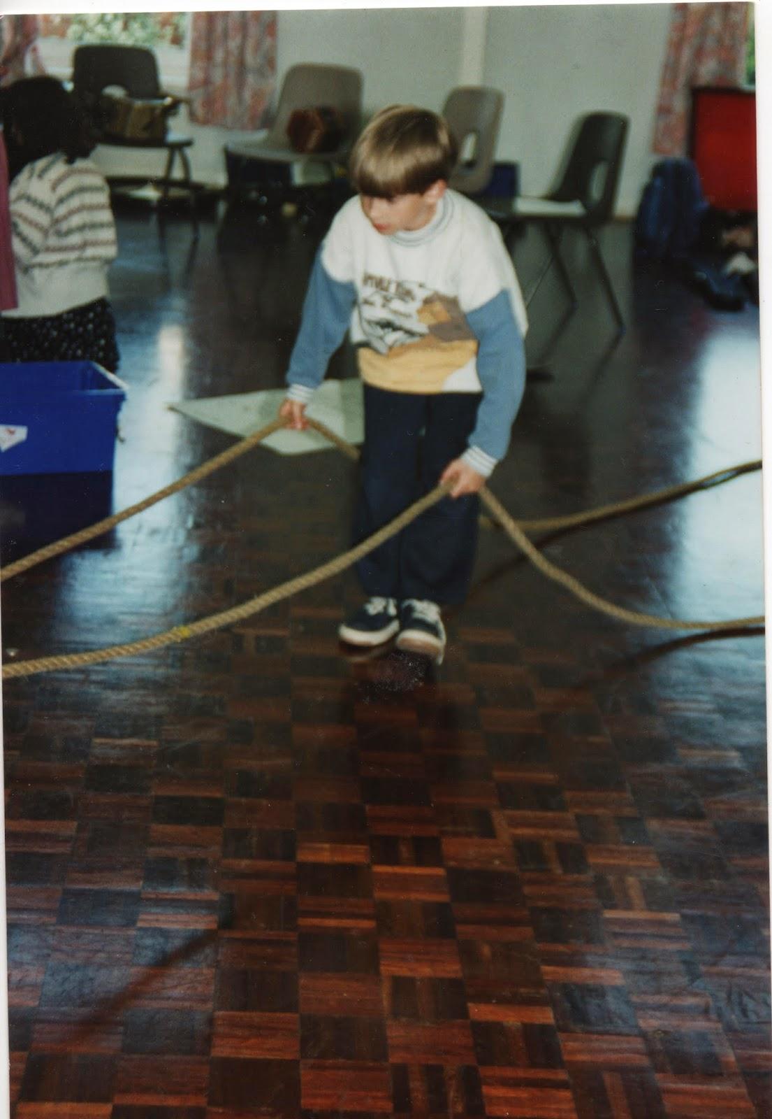 SS Southcoaster rehearsal Starcross School Wren Trust 1990s