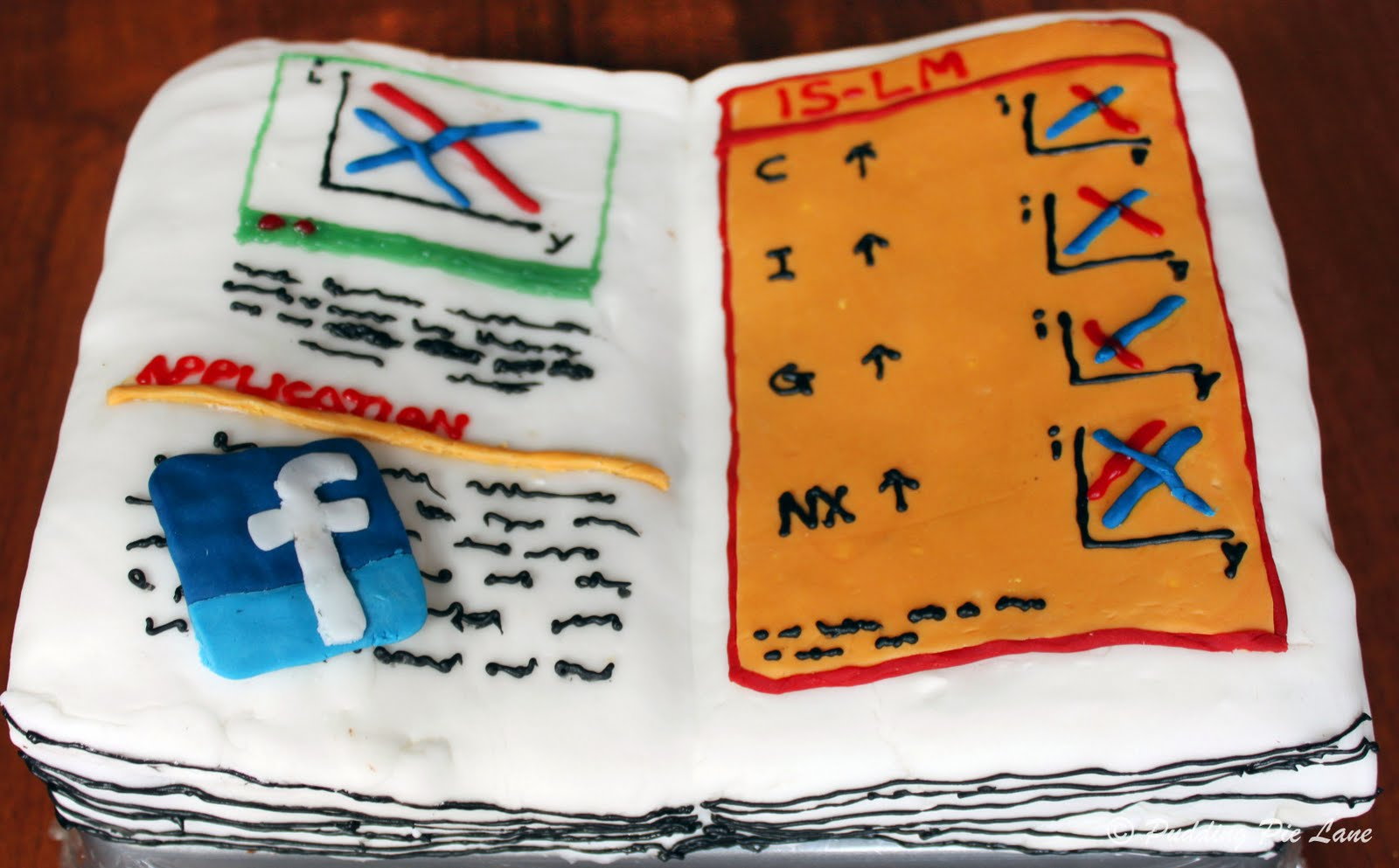 (Face)book cake