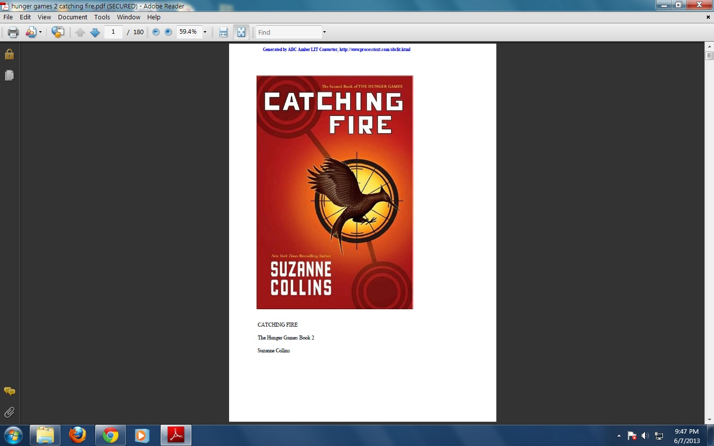 the hunger games book 3 pdf
