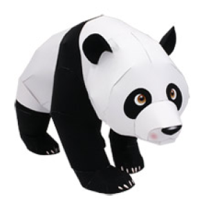 Giant Panda Papercraft