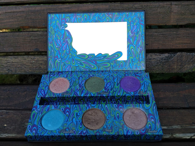 Urban decay Peacock Palette