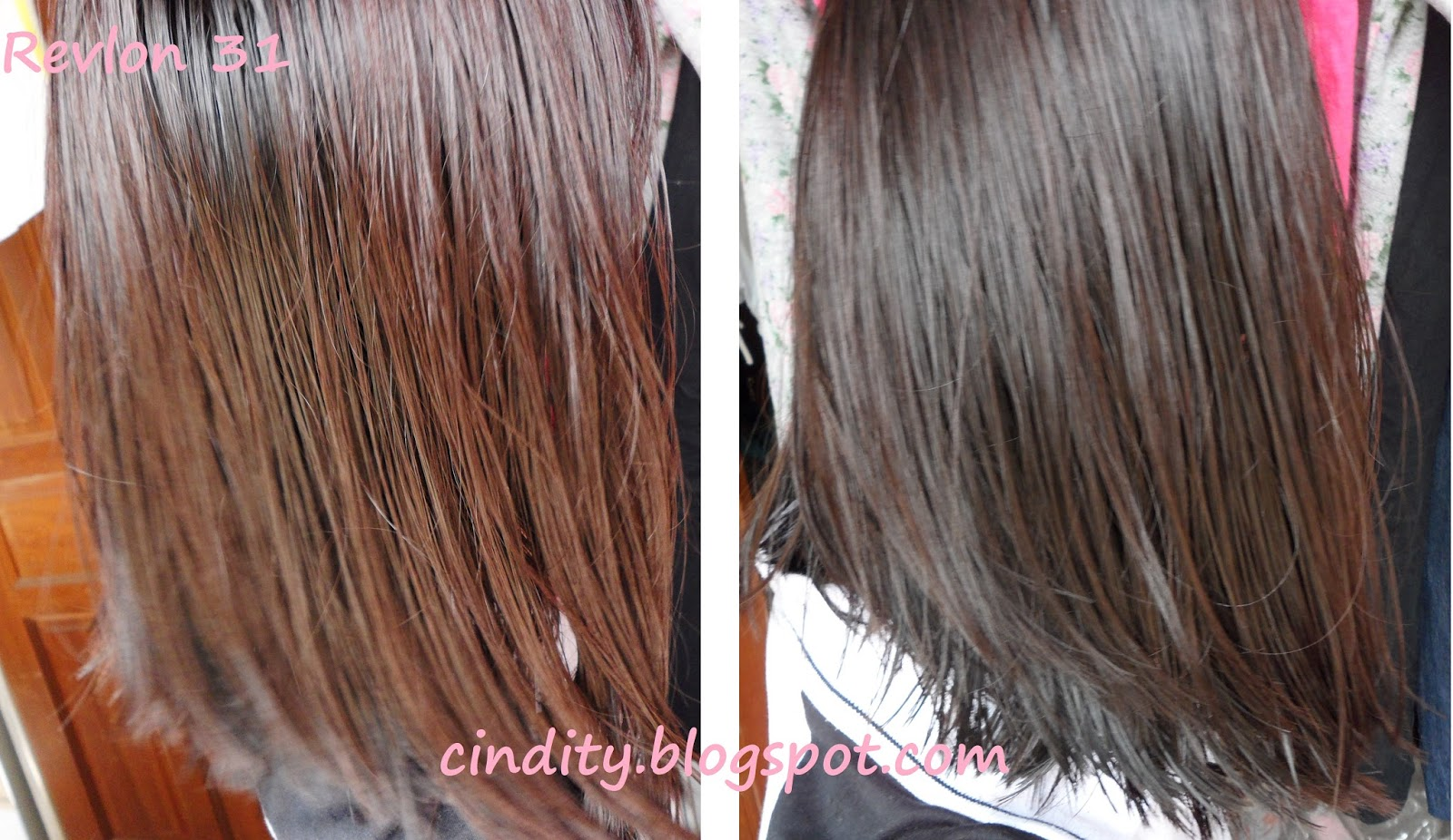 Hair Colour My Virgin Dye Review Revlon Colorsilk Dark Semir Rambut Top Immediately After Dyeing And Washing Haha Was Still Uhm Wet