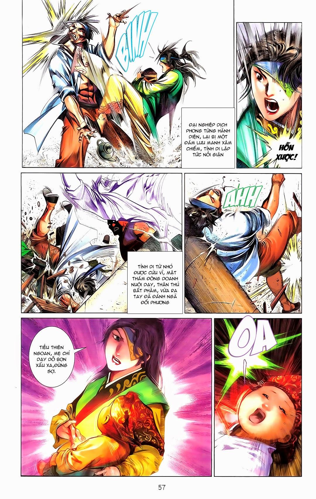 Phong Vân chap 670 Trang 57 - Mangak.info