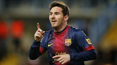 Lionel Messi (Barcelona FC) - Inidia 10 Striker Paling Mematikan di Eropa Sejauh Ini