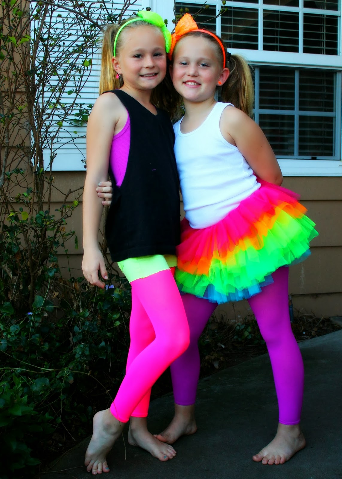Bringing Up Burns Mollyu0026#39;s NINTH Neon/Glow in the Dark Dance Birthday Party