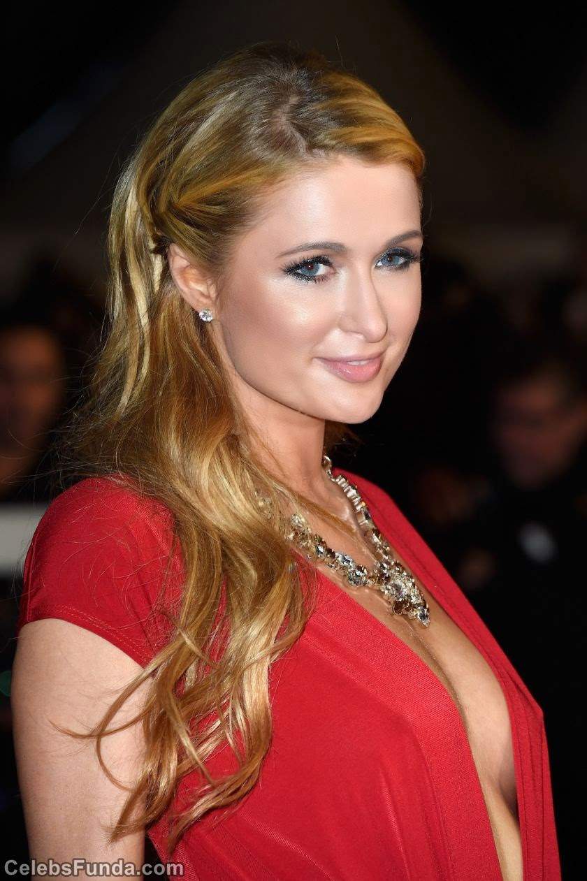 Paris Hilton Looks Hot in Red at NRJ Music Awards 2014 in Cannes