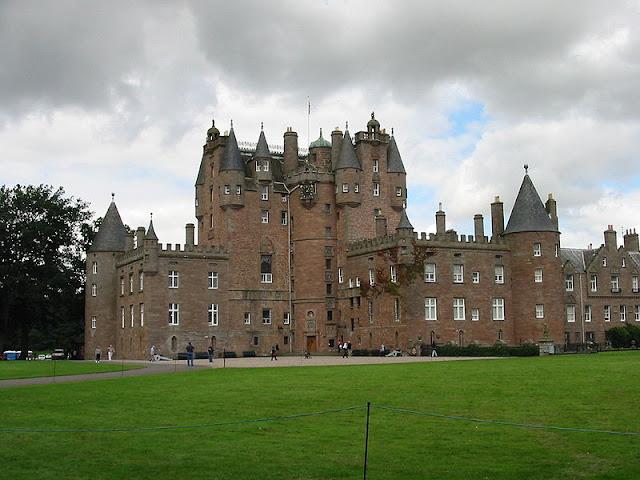 Castelo De Glamis, Escócia
