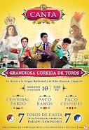 Paco Céspedes, anunciado en Canta, el 10/09.