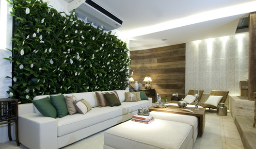 jardim vertical no sol:ARK – Arquitetura: Jardim em Apartamento
