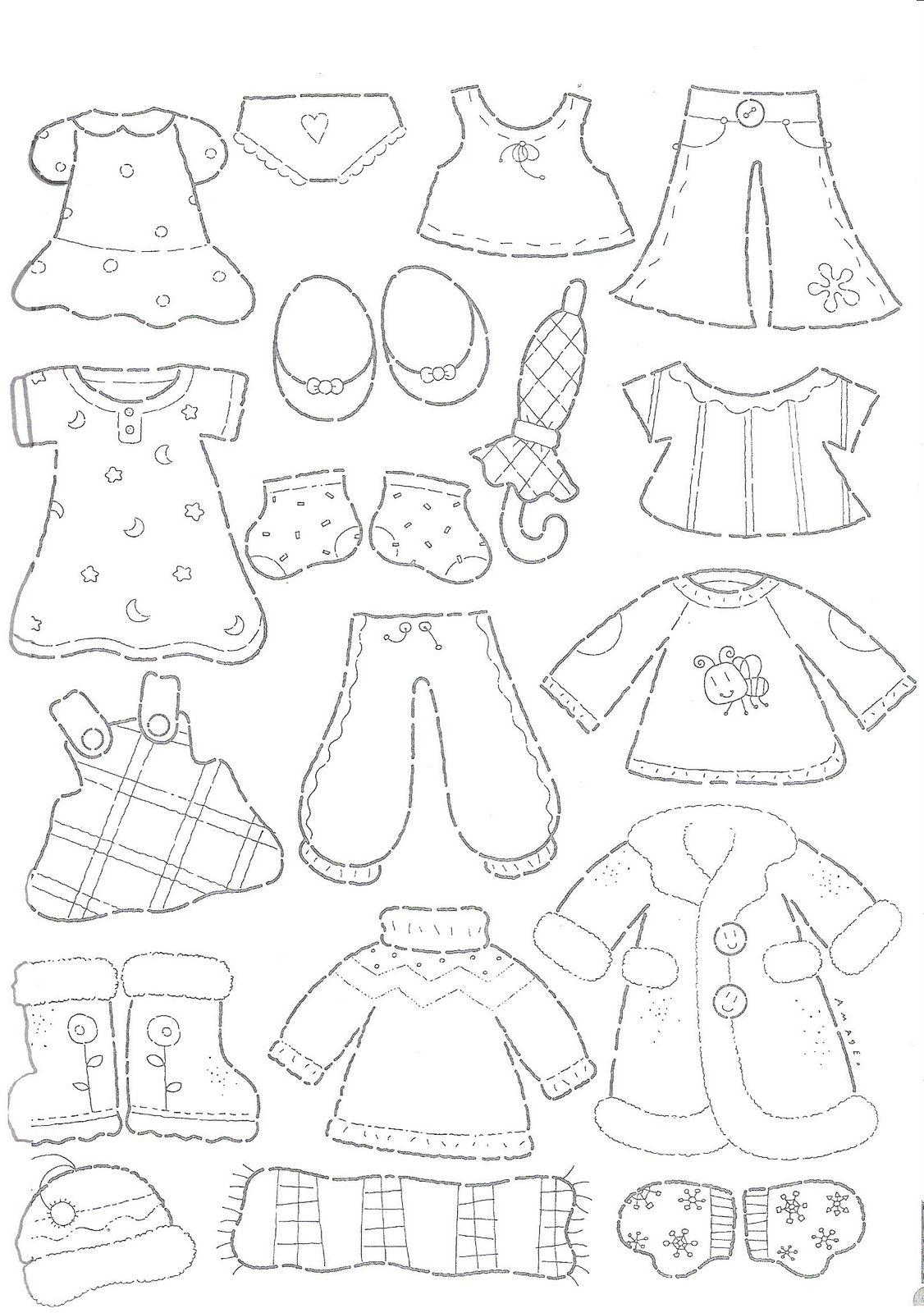 Mi colección de dibujos: ♥ Dibujos de ropa