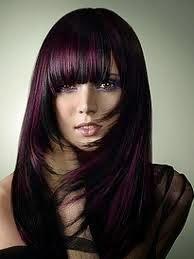 Gaya Rambut Warna
